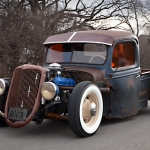 1937 Ford Pickup Cruising