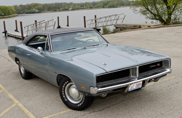 It's hard to beat the classic lines of a 1969 Dodge Charger R/T