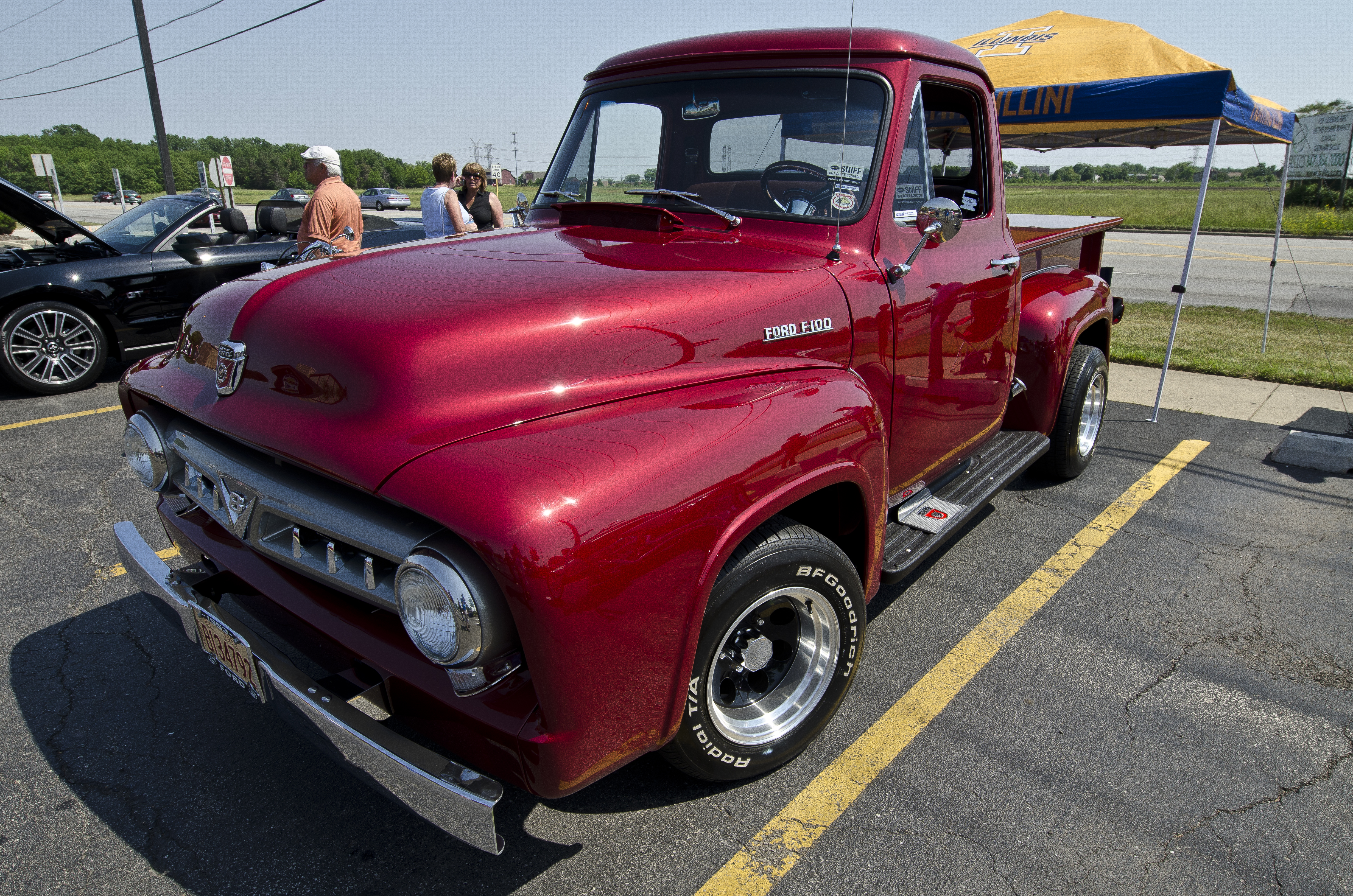 Feature 1953 Ford F100 Classic Recollections 1955 Pickup Truck Kits This Was Found In A Barn After Sitting For 35 Years