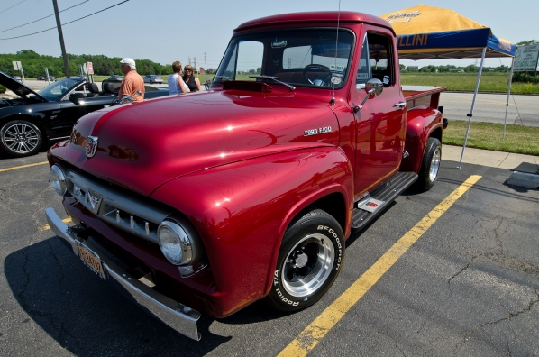 This 1953 Ford F100 was found in a barn after sitting for 35 years.