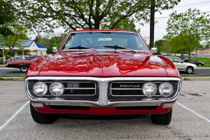 It's hard not to stare at this 1968 Pontiac Firebird.