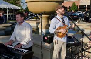 Owen Two performed at the South Barrington Classic car cruise night.