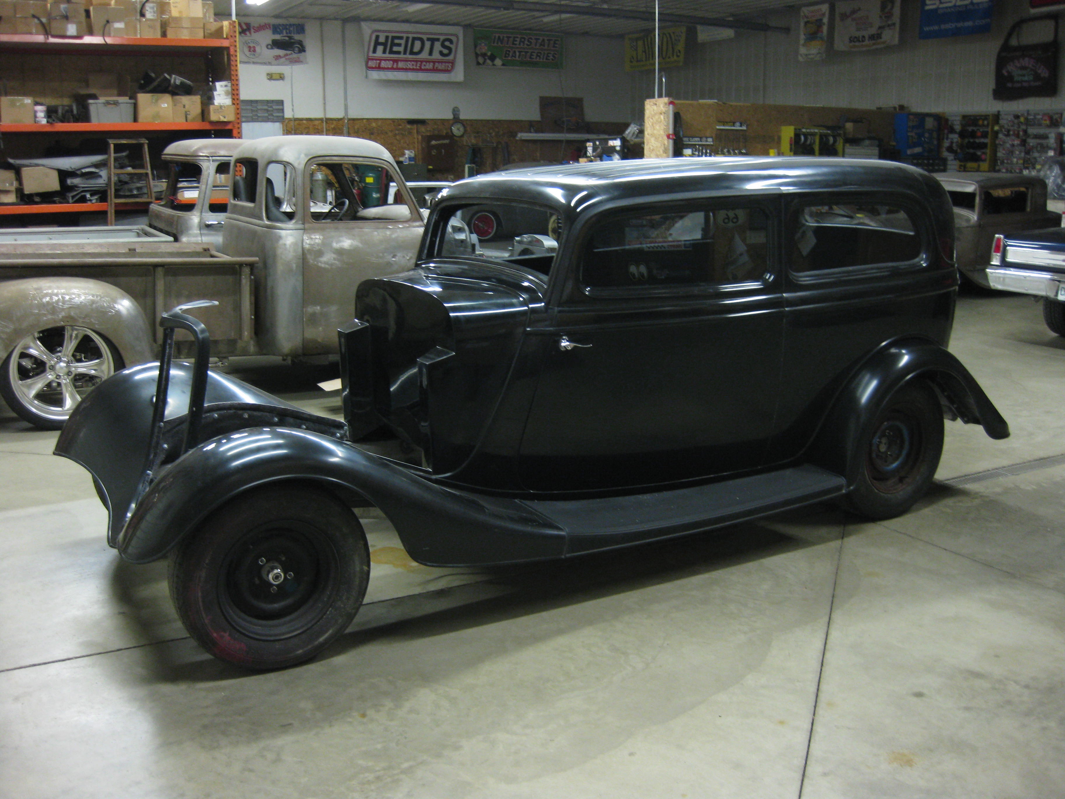 Feature 1934 Ford Tudor Classic Recollections