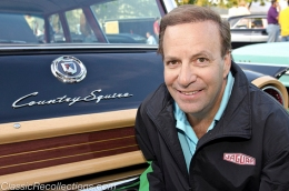 Richard Sacks owns this fully restored 1961 Ford Country Squire station wagon.