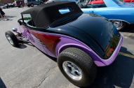 This custom 1933 Ford Speedster was built by David Taylor.