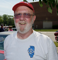 Bob McLuckie owns a restored Matador Red 1970 Oldsmobile Cutlass W-31.