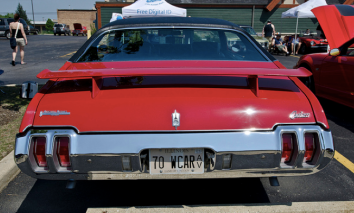 This 1970 Oldsmobile Cutlass S W-31 was bought in Michigan.