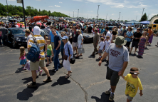 Last year's Dadfest brought 25,000 spectators and the number was expected to be the same for 2012.