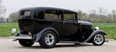 This 1932 Ford Tudor was overhauled twice.