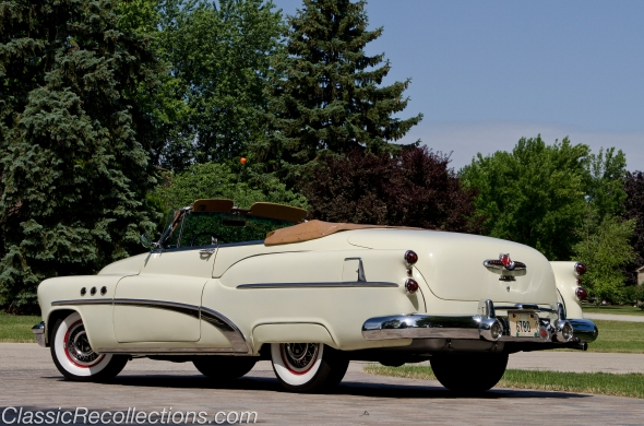 This 1953 Buick Super was fully restored after being found in downtown Chicago.