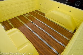 This custom 1956 Chevrolet 3100 pickup was found in Nashville, TN.