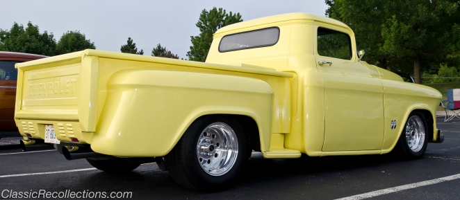 This custom 1956 Chevrolet 3100 pickup was found in Nashville, TN.