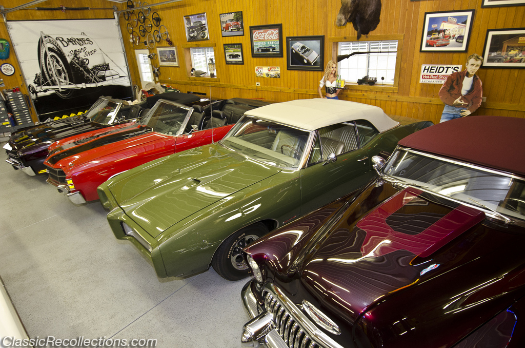 This Dream Garage Houses Not Only Classic Muscle Cars But Also Real Show Horses