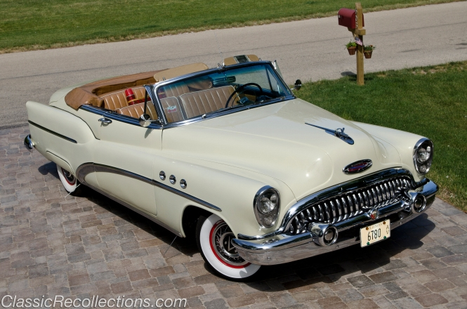 This 1953 Buick Super convertible was fully restored.