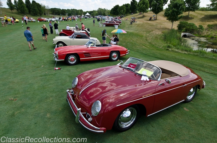 Classic cars displayed at the 2012 Barrington Concour d'Elegance.