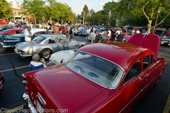 Downtown Barrington, Illinois's classic car cruise has been taking place for 9 years.