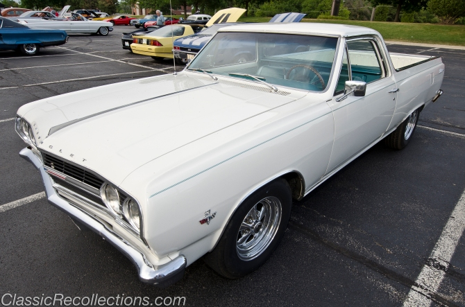 This 1965 El Camino is all original and has the 327 V8.
