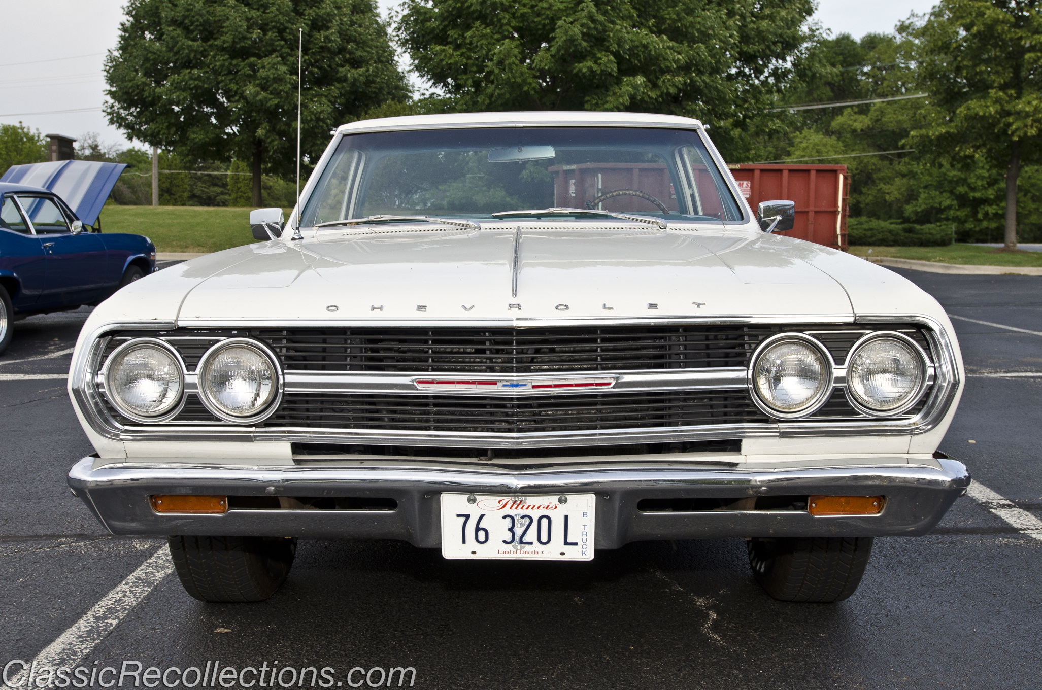 Feature 1965 Chevrolet El Camino Classic Recollections 1954 Chevy Under The Hood Of This Is Factory 327ci V8