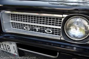 1969 Pontiac GTO convertible.