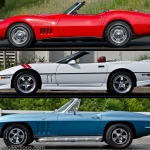 Celebrate July 4th with a red, white and blue Corvette!