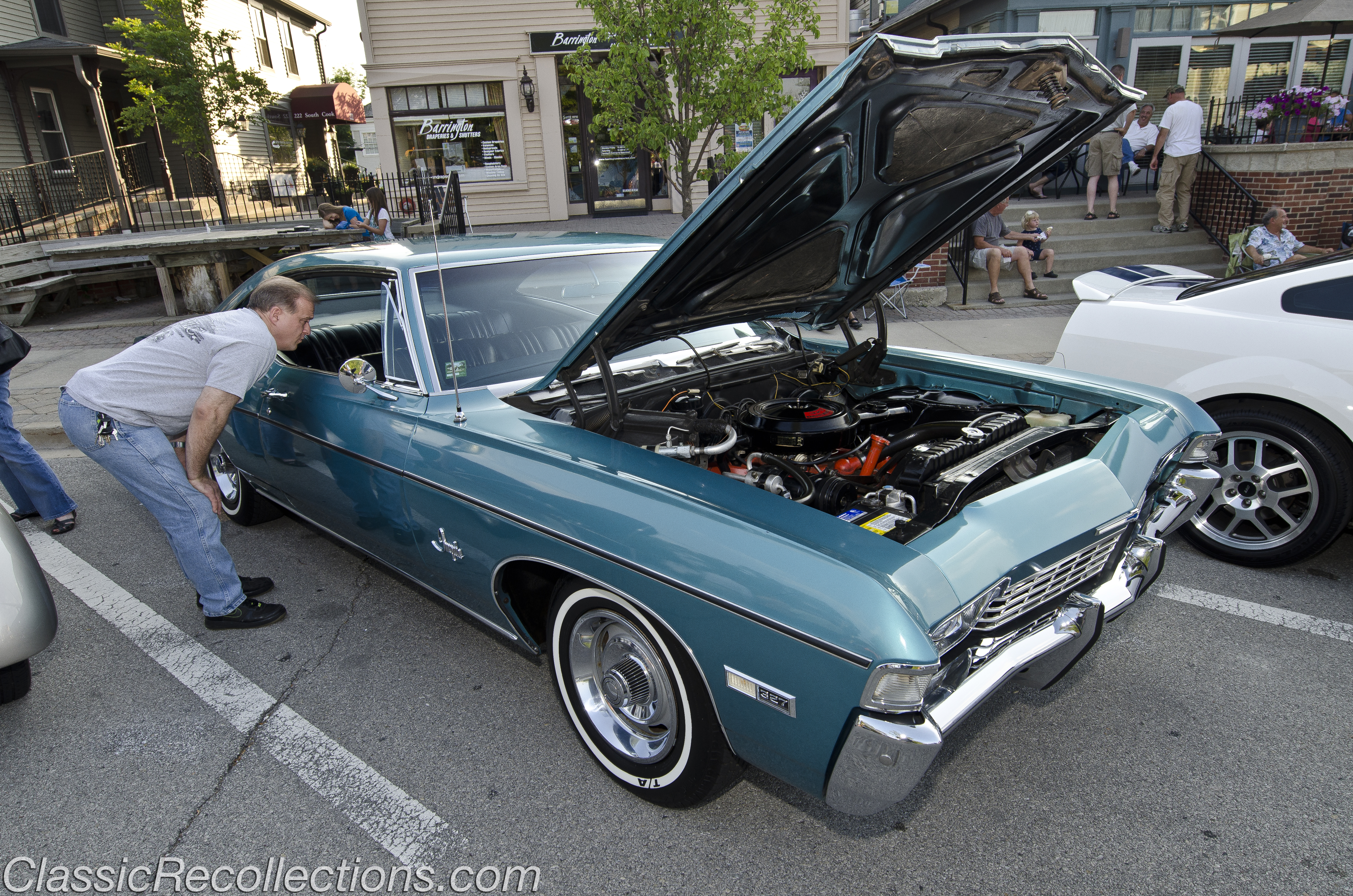 Cruise Night Downtown Barrington Illinois Classic Recollections