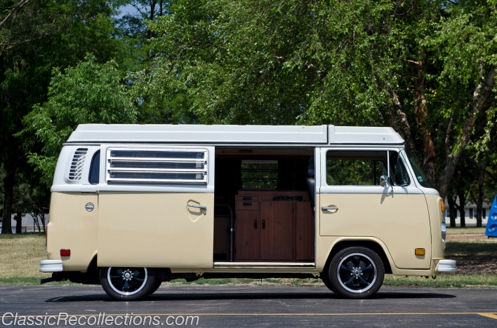 This 1978 VW Bus has been restored over a period of 10 years.