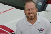 Tom Arvidson is the president of the North Shore Corvette Club.