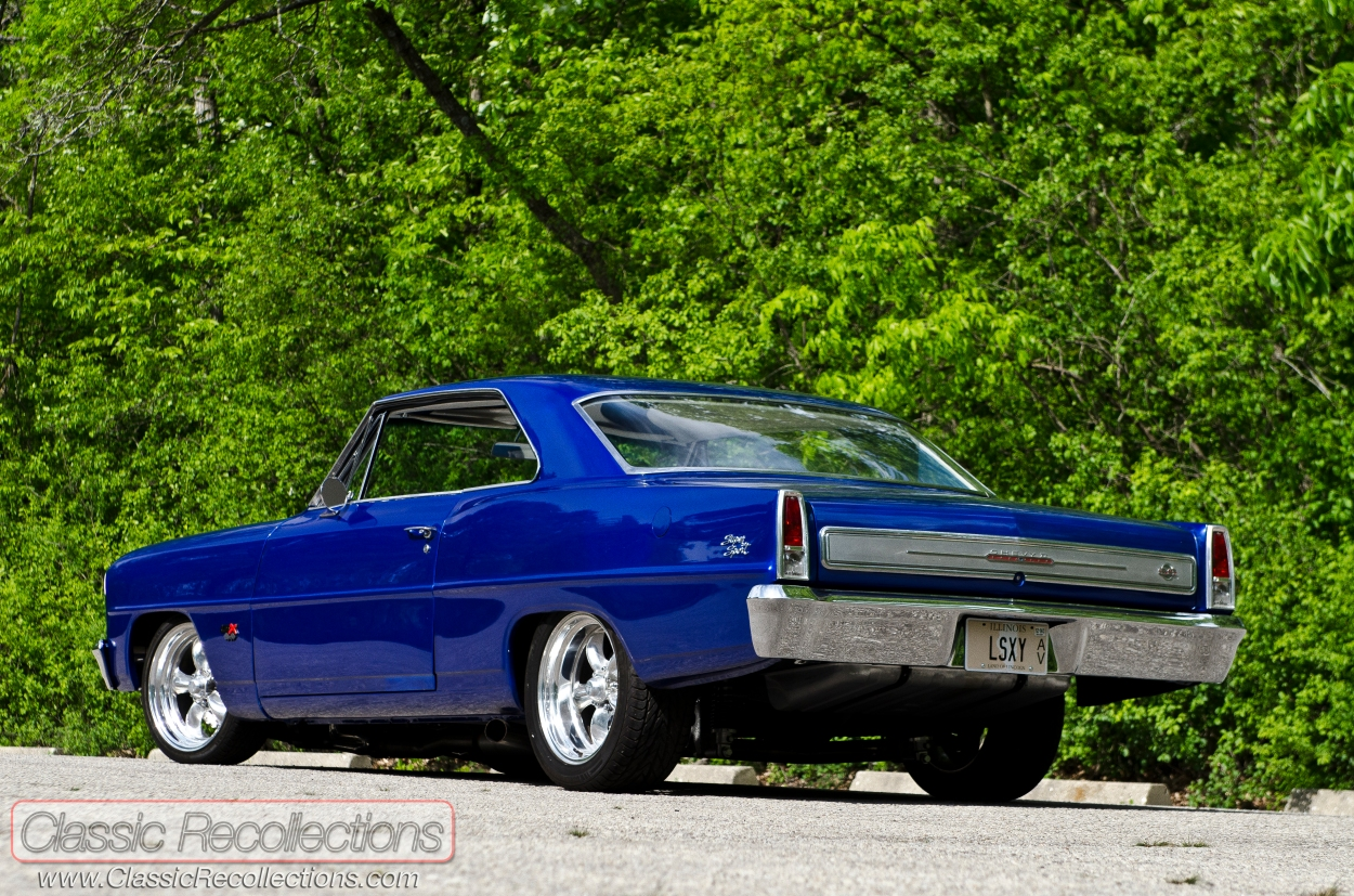 After a full overhaul, this 1966 Chevrolet Chevy II Nova turned into a wild custom car.