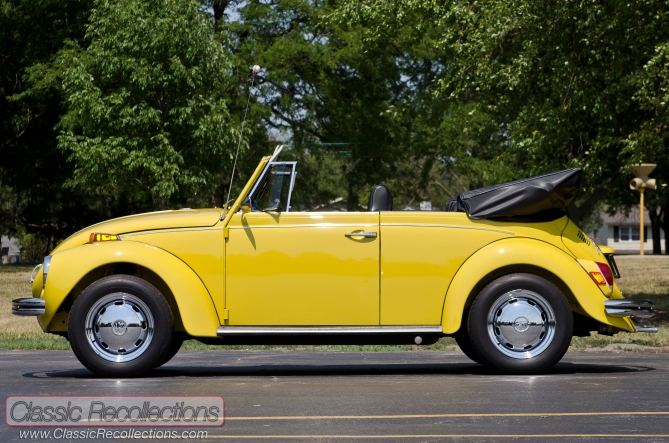 This 1971 VW Super was restored and painted in a home garage.