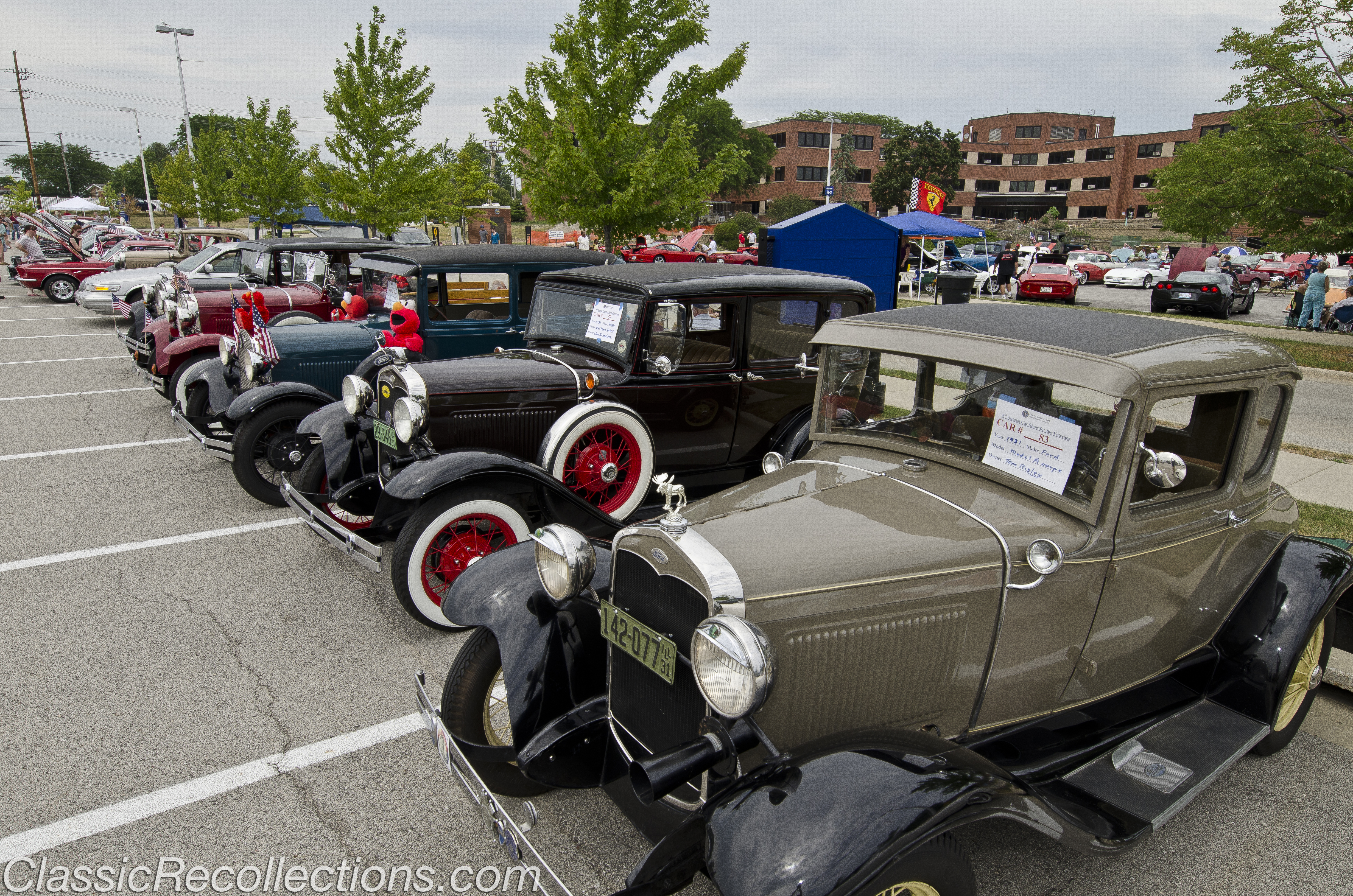 CAR SHOWS: Great Lakes, IL VA Hospital – Classic Recollections