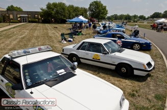 Service vehicles were parked at the 2012 Chicagoland Emergency Vehicle show.