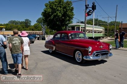 The Vintage Transport Extravaganza 2012, held in Union Illinois, combines classic cars, trucks and trains.