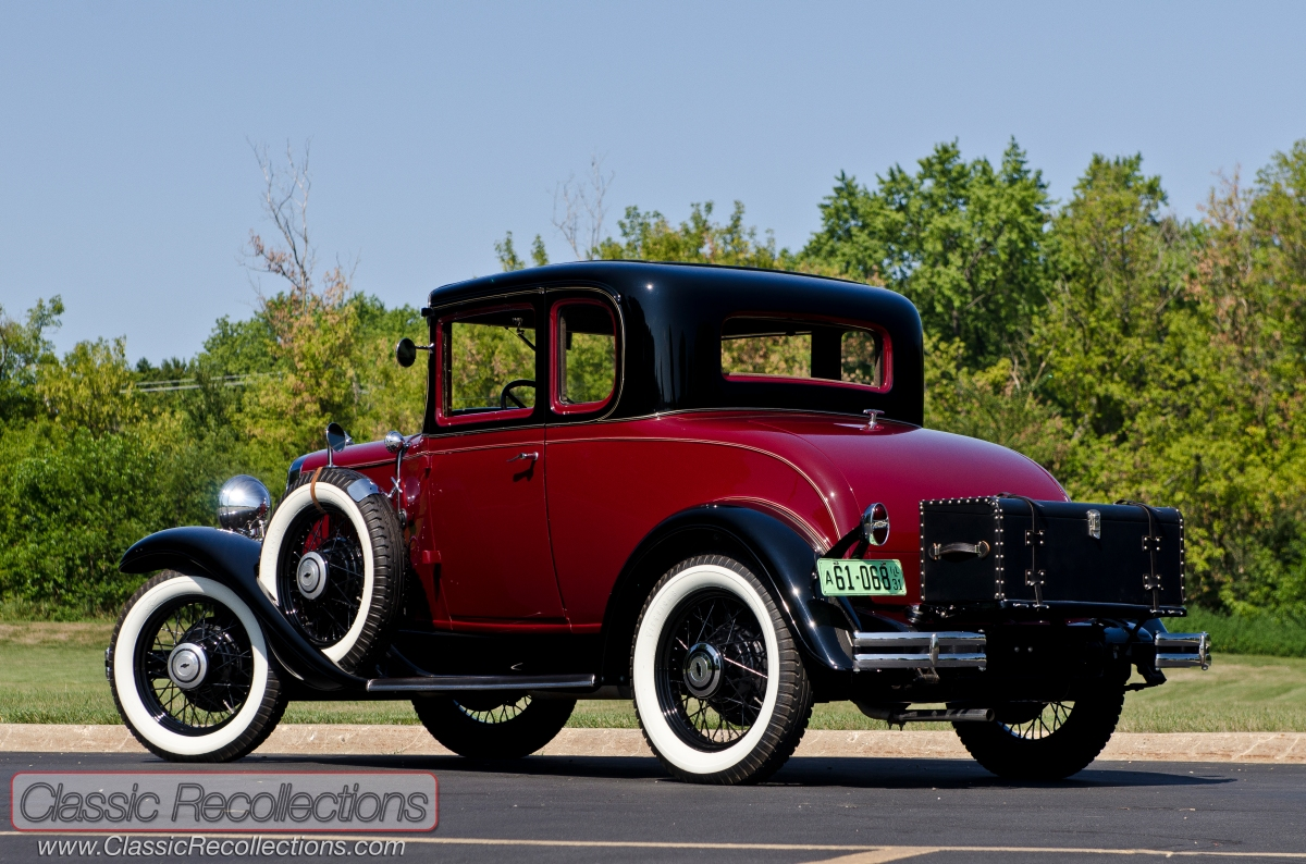 FEATURE: 1931 Chevrolet Deluxe Sport Coupe