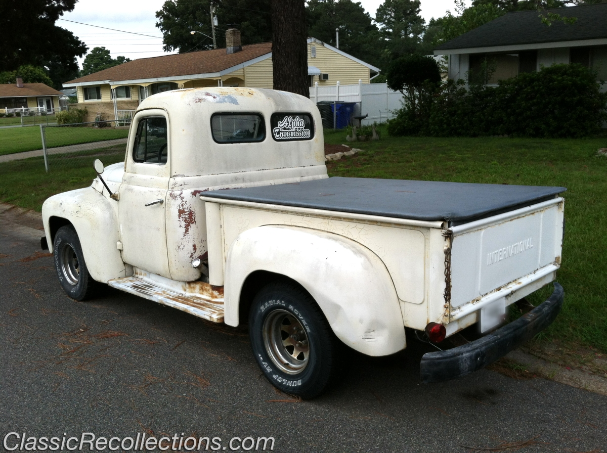 PROJECT CAR: 1952 International L-Series Truck