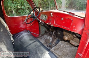 This 1939 International Harvestor pickup has been left unrestored.