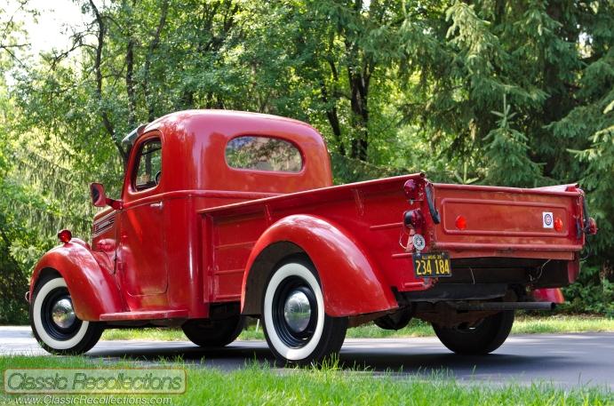 This 1939 International Harvestor D2 is unrestored.