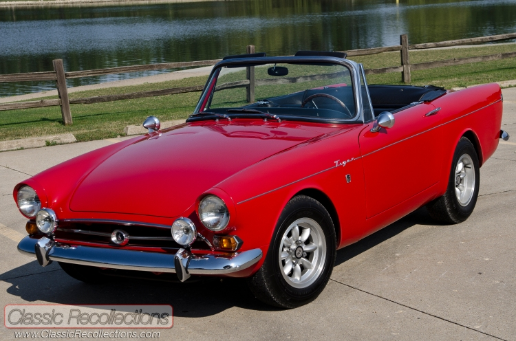 This 1966 Sunbeam Tiger MK1A was eqiupped with a 260ci V8.