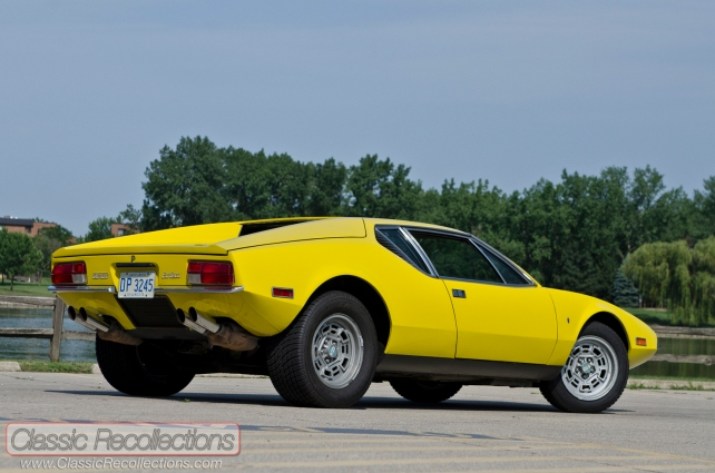 This 1972 De Tomaso Pantera was found in a chicken coop.