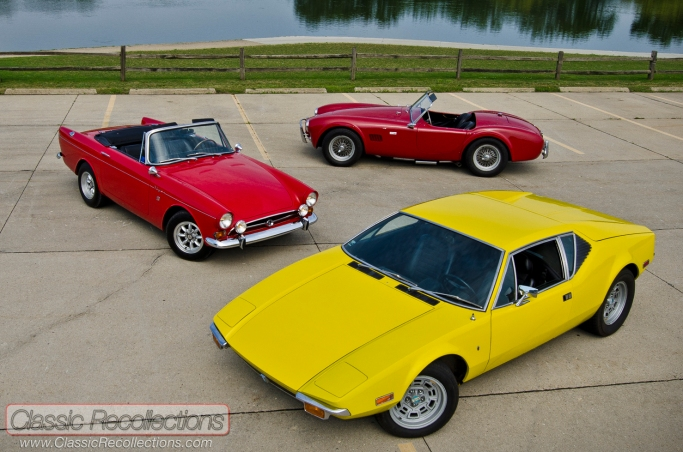 High-power Hybrids: the Sunbeam Tiger, AC Cobra and Pantera all featured exotic styling and American V-8 engines.