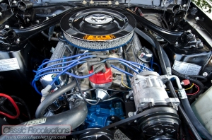 This 1968 Ford Mustang GT has a 351ci Windsor V8 underhood.