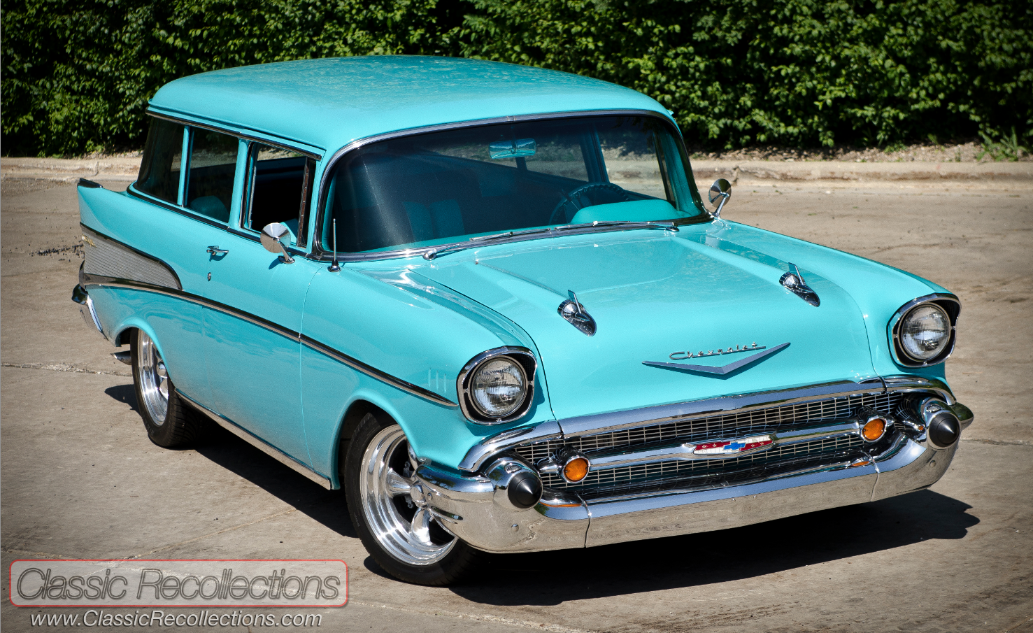 All Chevy 1957 chevy wagon for sale : FEATURE: 1957 Chevrolet 210 Wagon – Classic Recollections