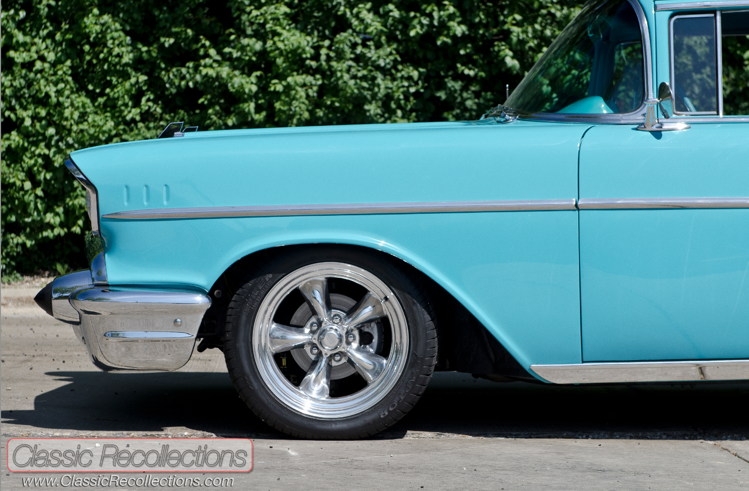 Feature 1957 Chevrolet 210 Wagon Classic Recollections Chevy Station This Owner Wanted A With The Bel Air Trim
