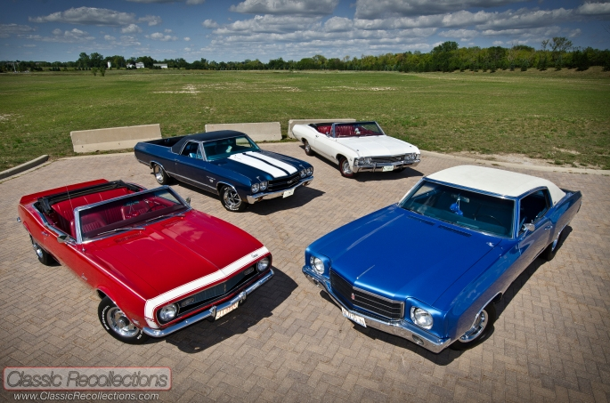 This group of restored classic Chevrolets is owned by one cruising family.