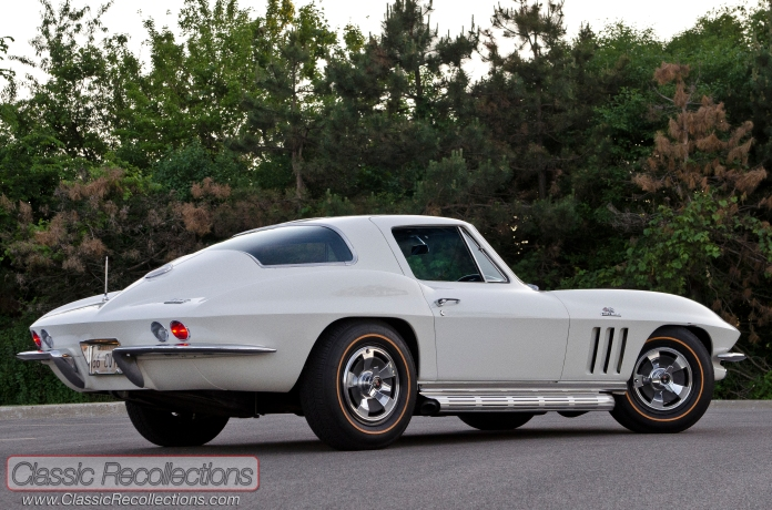 This 1966 Corvette was returned to all original condition after its owner found parts in his dad's attic.