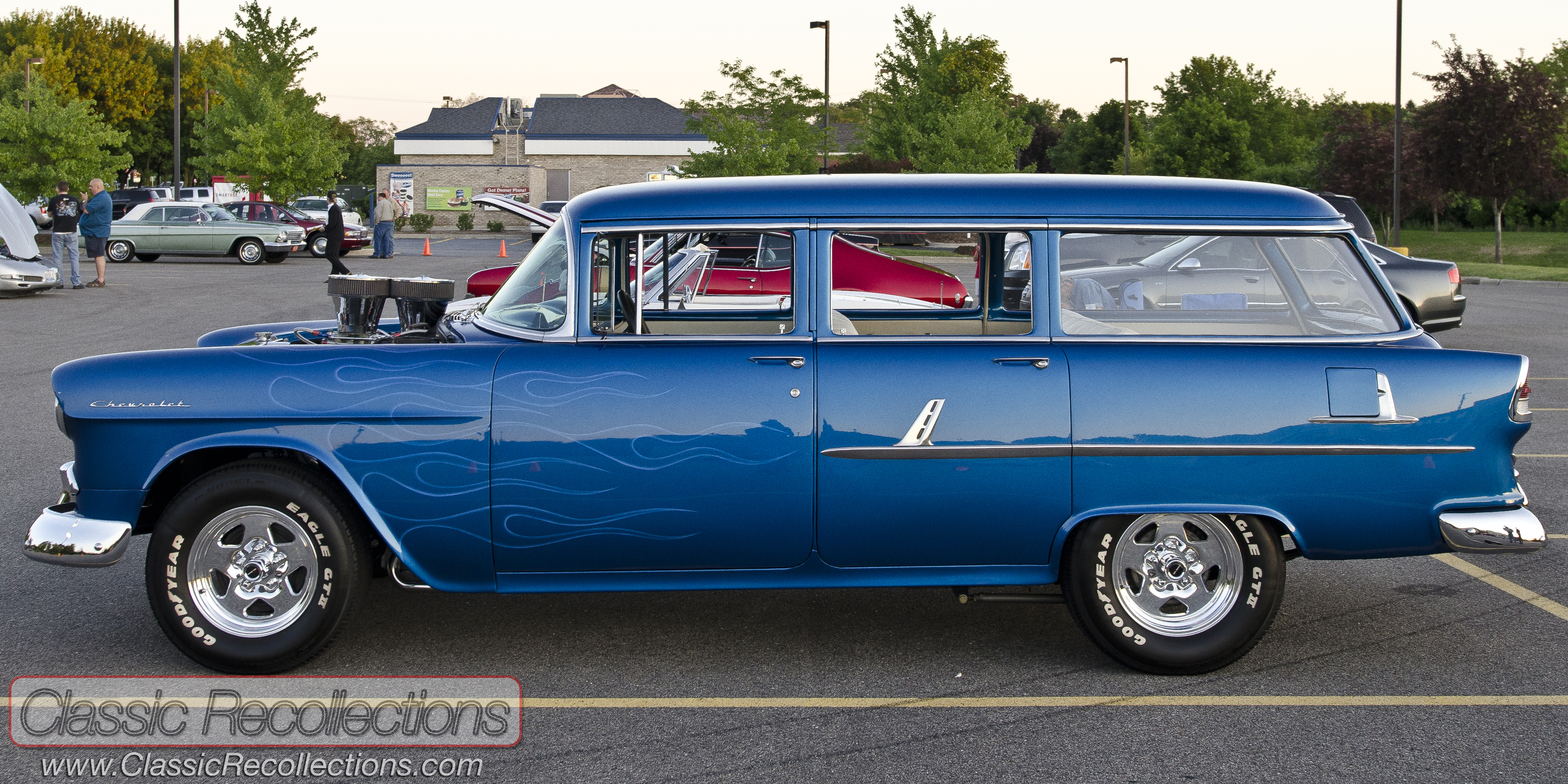 55 Chevy Wagon For Sale