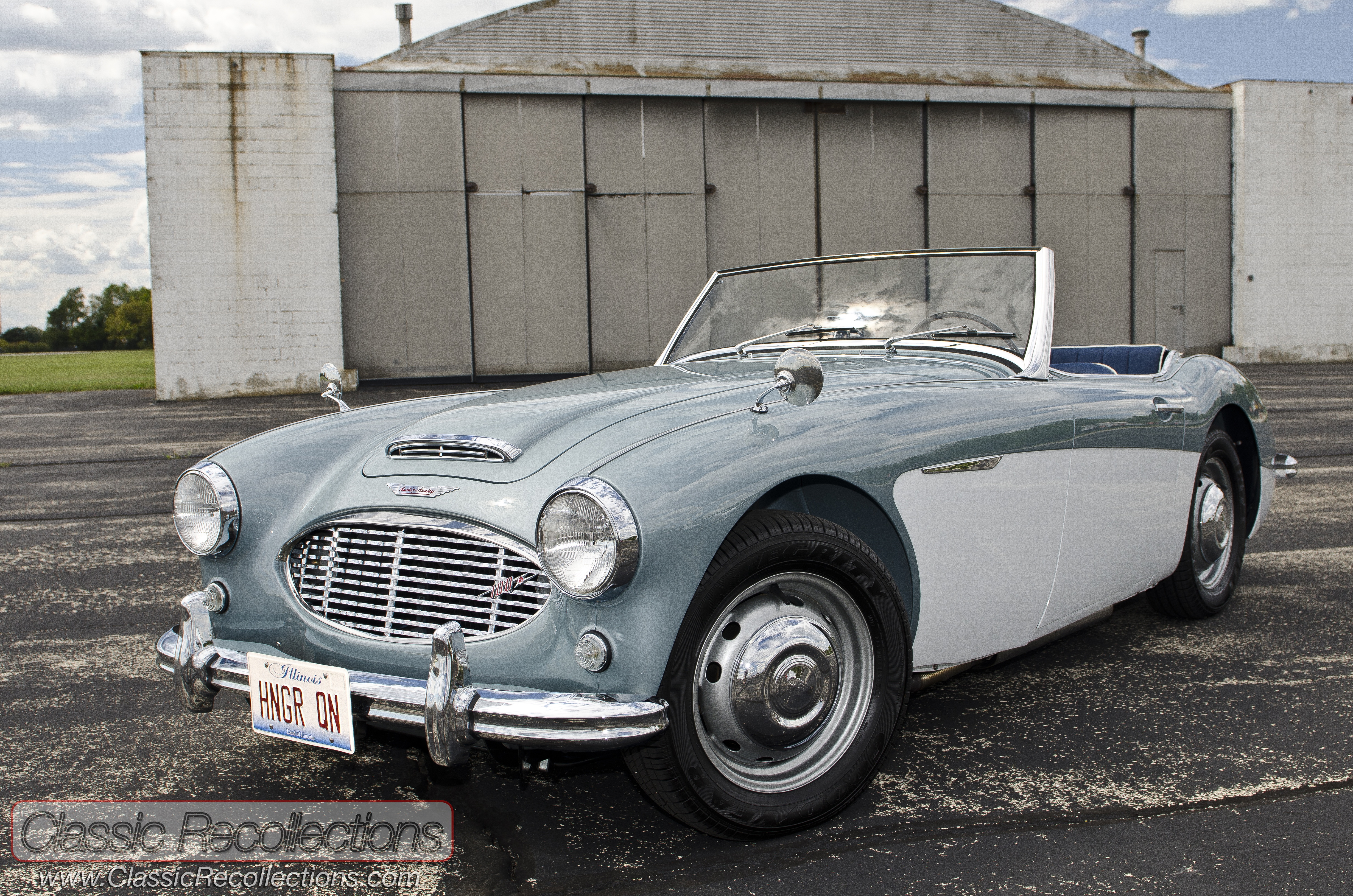 Feature 1959 Austin Healey Model 100 6 Classic Recollections
