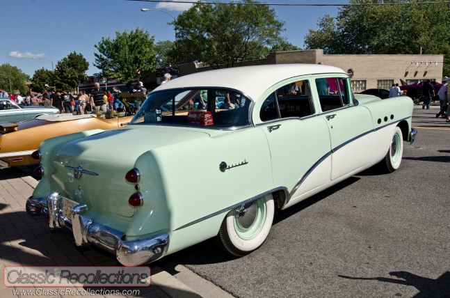 This Ocean Mist green and Arctic white 1954 Buick Special sedan is all original and was found near Chicago, Illinois.