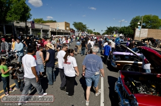 The weather was perfect for the 2012 Route 66 show in Chicago, Ilinois.