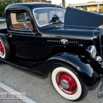 This restored 1936 Ford Model 68 pickup was found in California.
