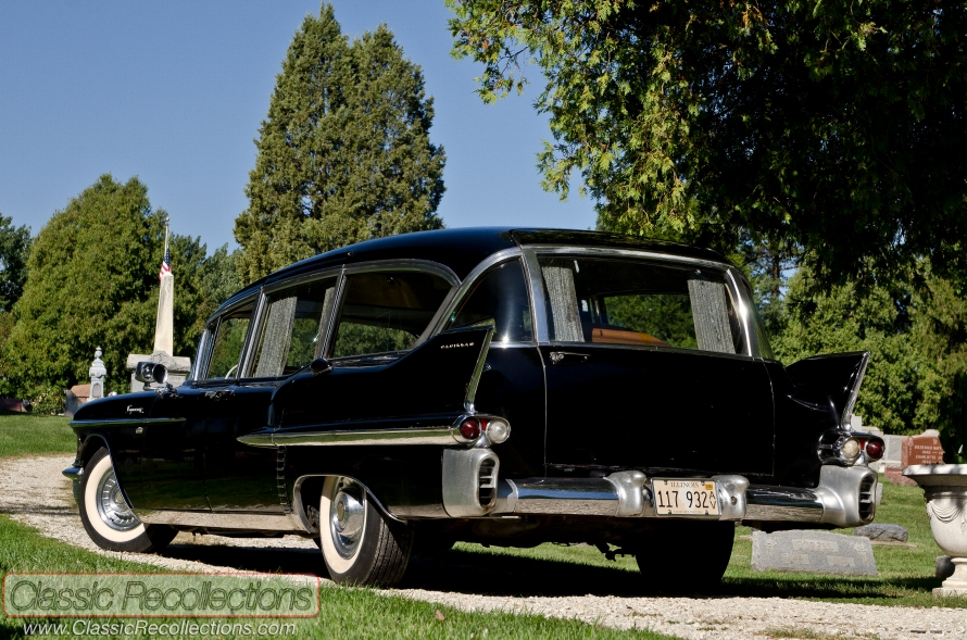 This original 1958 Cadillac Series 86 combination hearse served in Michigan for many years.